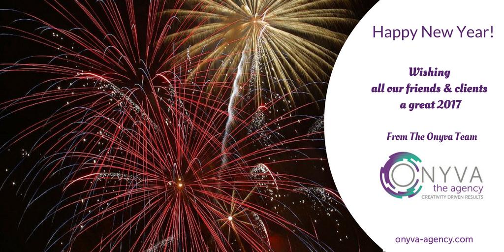 Happy New Year Onyva Marketing Agency