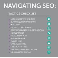 Navigating SEO article link